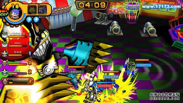 《BUZZ FELLOWZ》游戏截图 如同漫画般独特的变身